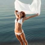 Slim girl in swimwear — Stock Photo #2354397
