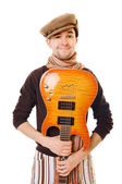 Cool musician — Stock Photo