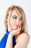 Beautiful blond girl — Stock Photo