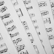 Music scores — Stock Photo