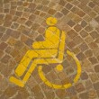 Royalty-Free Stock Photo: Parking for handicapped