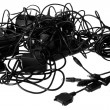 Cables chaos — Stock Photo