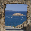 Gate on MediterraneSea — Stock Photo #2363282