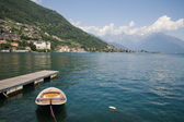 Village at Lake Como — Stock Photo
