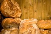 Bread at the market — Stock Photo