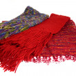 Three scarfs — Stock Photo