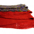 Stock Photo: Wool scarfs