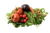 Fresh salad ingredients — Stock Photo