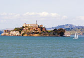 Alcatraz island prison San Francisco — Stock Photo