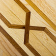Parquet wooden floor background - Stock Photo