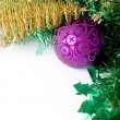 Christmas decoration ornaments objects — Stock Photo #2497258