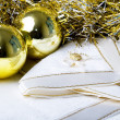 Stock Photo: Christmas New Year decoration ornaments