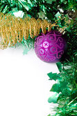 Christmas decoration ornaments objects — Stock Photo