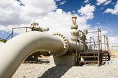 Gasleiding — Stockfoto