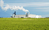Ethanol Plant — Stock Photo