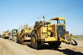 Heavy Construction Equipment — Stock Photo