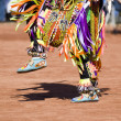 Stock Photo: Pow Wow Dancers
