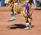 Pow Wow Dancers — Stock Photo