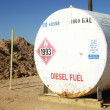Diesel Storage Tank — Stock Photo