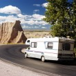 Stock Photo: RV Travel 1