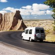 Travel Van - Stock Photo
