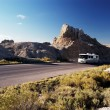Stock Photo: Motorhome travel 1