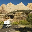 Touring Capital Reef — Stock Photo