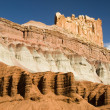 Capital Reef sandstone formations — Stock Photo