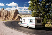 RV Travel 1 — Stock Photo