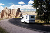 RV Travel 3 — Stock Photo