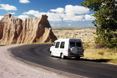 Travel Van — Stock Photo