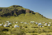 Desert Campground 1 — Stock Photo