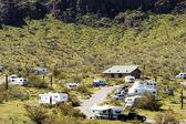 Desert Campground 2 — Stock Photo