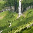 Waterfalls in Glacier — Stock Photo