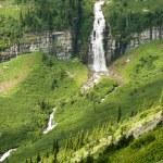 Waterfalls in Glacier — Stock Photo #2680098