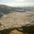 Stock Photo: Aerial view of Quito, Ecuador