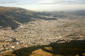 Aerial view of Quito, Ecuador — Stock Photo