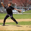 Stock Photo: Little league pitcher