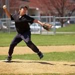 Little league pitcher — Stock Photo #2349367