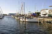 Boats in Chesapeake Bay — Stock Photo