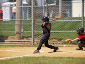 Swing batter — Stock Photo