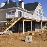 construção de casa — Foto Stock