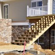 Stock Photo: Stair construction