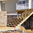 Stockfoto: Stair construction