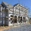 New home construction - Stock Photo