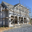 Stockfoto: New home construction