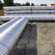 Stock Photo: Construction piping