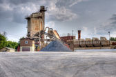 Stone quarry in HDR — Stock Photo
