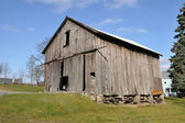 Rustic old barn — Stockfoto