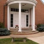 Column porch — Stock Photo
